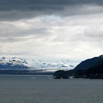Taking a last look around Glacier Bay before heading to next town