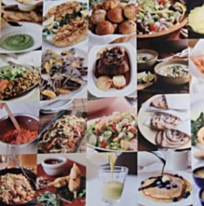 The dishes pictured are some of the 375 favorite dishes and recipes for the home chef in the Culinary Institute of America Cookbook