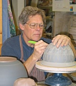 Pottery is nice to buy from an expert such as John Dietrich whose shop and studio with wife Diane McNeil is in Ellison Bay on Wiscon's Door County. But besides finding the perfect piece to take home it is also nice to take a class to better understand the craft