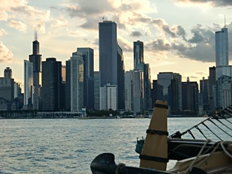 Chicago is about enjoying Lake Michigan and snapping its skyline from the water