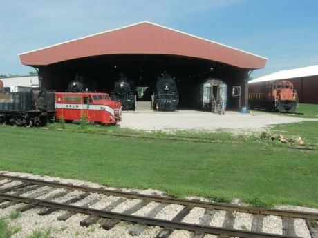 Take a train ride around the National Railroad Musuem but also tour the barns and the exhibits.
