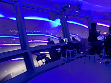 The Sunsphere's lounge is a popular night spot