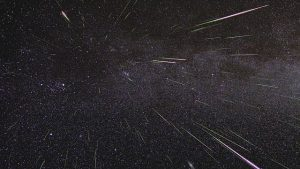 NASA captures meteor shower