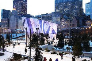 Maggie Daley Ribbon Ice Rink  A Maggie Daley Park photo