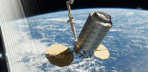 Launches to Space Station. on TV Photo courtesy of NASA