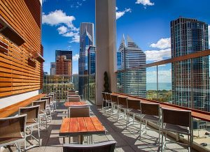View the city while partying at Roof on the Wit Memorial Day Weekend. Mike Reeves photo