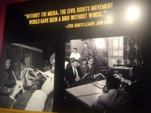 "The Newseum is featuring ""1967 Civil Rights at 50."" Jacobs Photo"