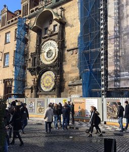 The astronomical clock in Prague. (Jacobs photos)