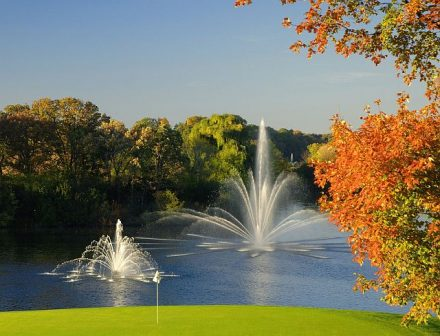 Play golf or just enjoy fall color at the Grand Geneva Resort on the outskirts of Lake Geneva, WI. (Grand Geneva photo)
