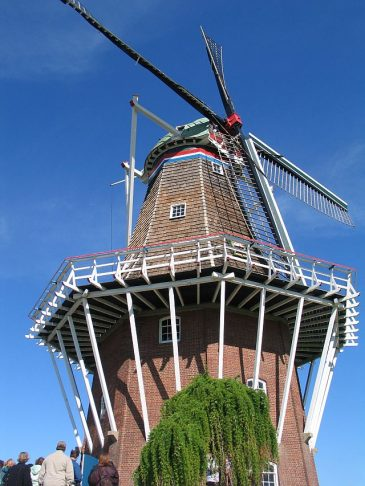 Windmill Island has an authentic, working windmill. (J Jacobs photo)