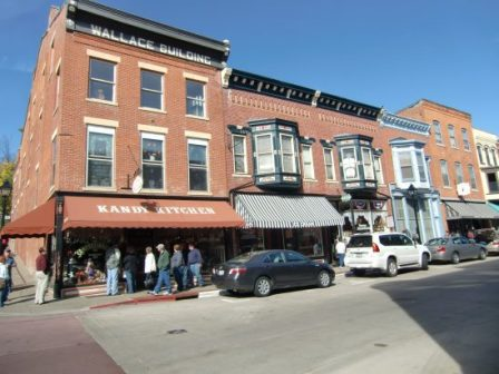 The historic town of Galena, IL has yummy shops and good festivals. (J Jacobs photo)