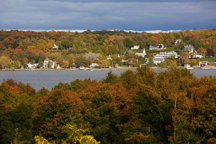Fall in Ephraim, (Photo by John Nienhuis and Door County)