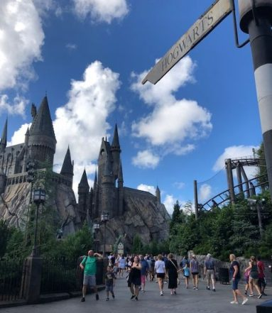 The world of Harry Potter at Universal. (J Jacobs photo)